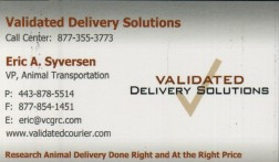 Validated Delivery Solutions, LLC Advertisement