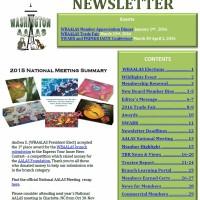 - December 2015 Newsletter