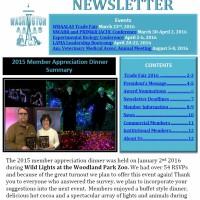 - February 2016 Newsletter