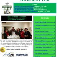 - January 2017 Newsletter