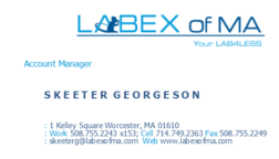 LABEX of MA Advertisement