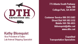 DTH Expeditors Inc. Advertisement