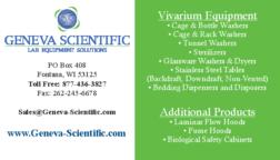 Geneva Scientific Advertisement