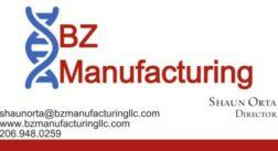 BZ Manufacturing Advertisement