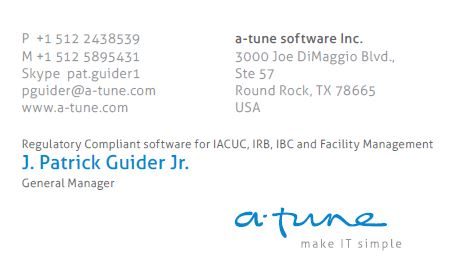 A-Tune Software Advertisement Advertisement