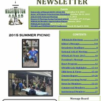 - September 2015 Newsletter